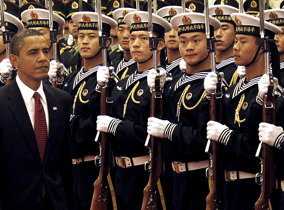 Derp - Obama photobombé